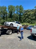 Cars towed to Conservation Center