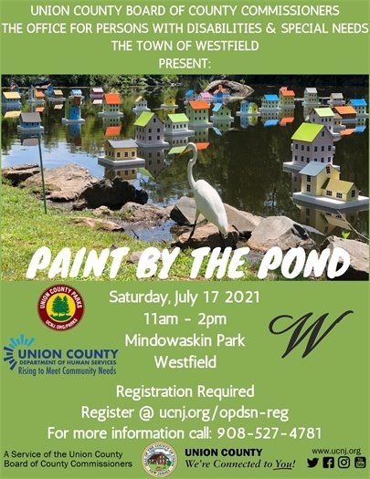 Paint by the Pond